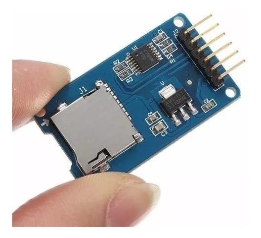 Modulo Leitor Gravador Micro Sd Esp32 Arduino Nodemcu