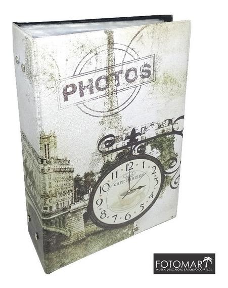 Álbum 500 Fotos 10 X 15 -relógio-