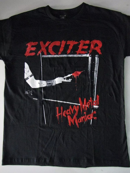 Camiseta Exciter - Heavy Metal Maniac - Profanus