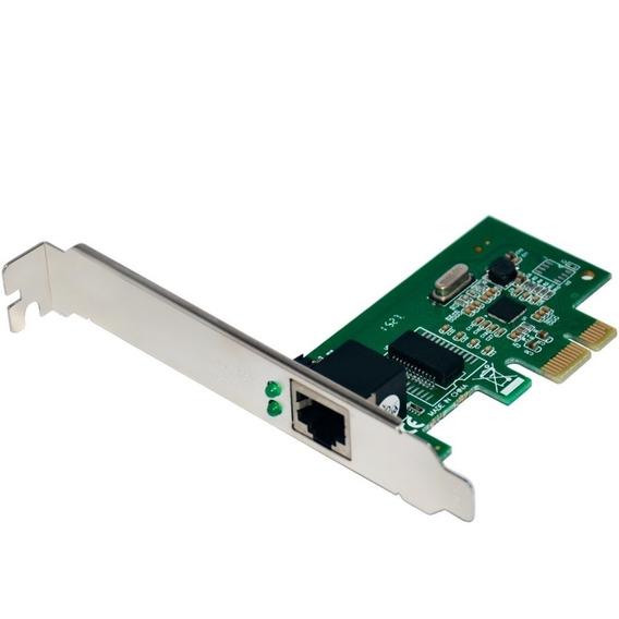 Placa De Rede Pci Express Conexão 10/100/1000 Mbps Ga150 - M