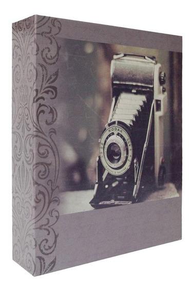 Álbum Para 200 Fotos 10x15 - Vintage Camera Fotográfica