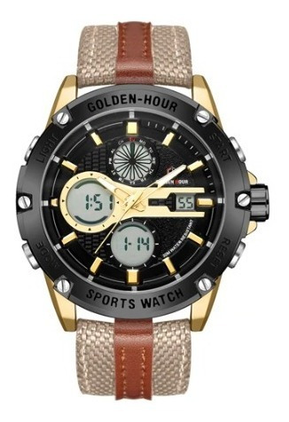 Relógio - Golden Hour - Original - Multifuncional - Estoque