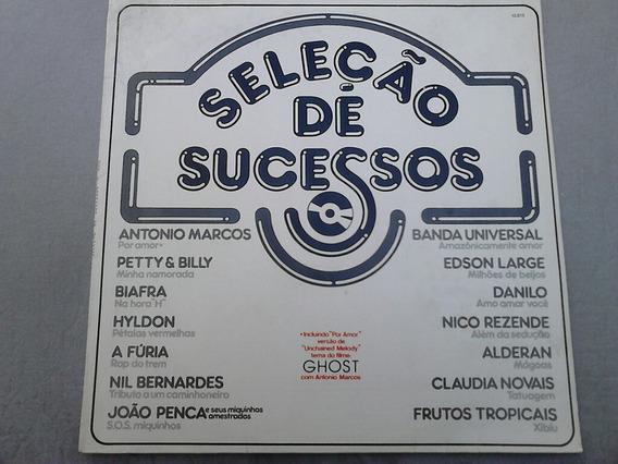 Lp Disco Vinil Seleção De Sucessos - Antonio Marcos