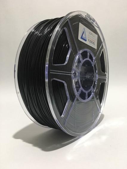 Filamento Flexivel Tpu Preto_1,75mm - 1 Kg - Frete Grátis
