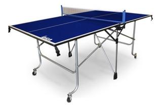 Mesa De Ping Pong Con Raquetas As