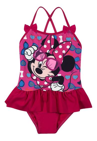 Maiô Infantil Disney Minnie Babadinhos Tip Top