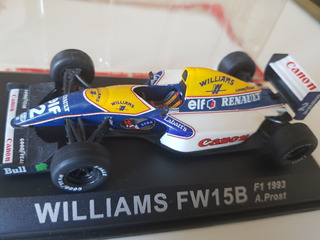 F1 - Alain Prost - Williams - 1993 - Último Título - 1:43