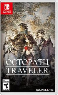 Octopath Traveler Nintendo Switch Nuevo Sellado En Español
