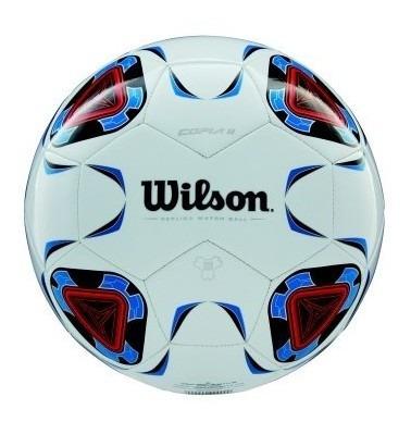 Bola Futebol - Copia Ii Sb 5 Branca E Azul - Wilson Wilson