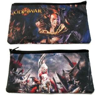 Cartuchera De God Of War Ps3 Kratos