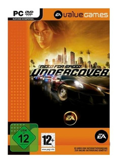 Need For Speed Undercover Value Juego Pc Fisico Caja Dvd Box