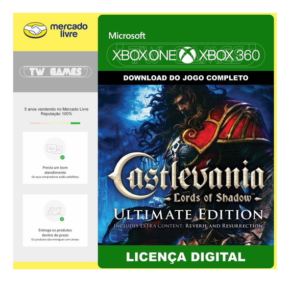Castlevania Los 1 Ultimate Edition Digital Xbox One Xbox 360