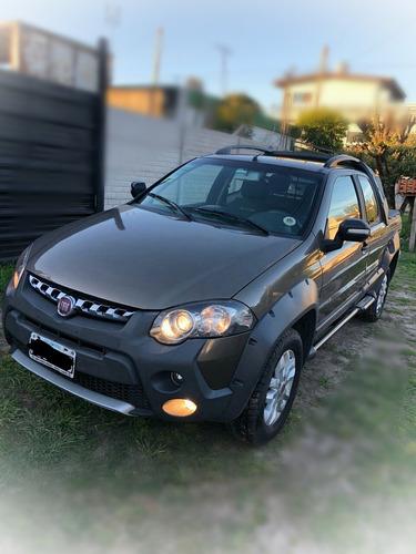 Fiat Strada 1.6 Adventure Cd C/alarma + Capota 2013