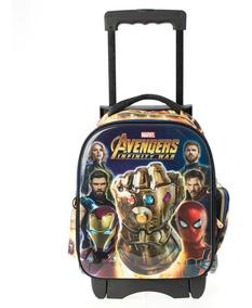 Mochilas Kinder Carrito Ruedas Avengers Infinity War 143213c
