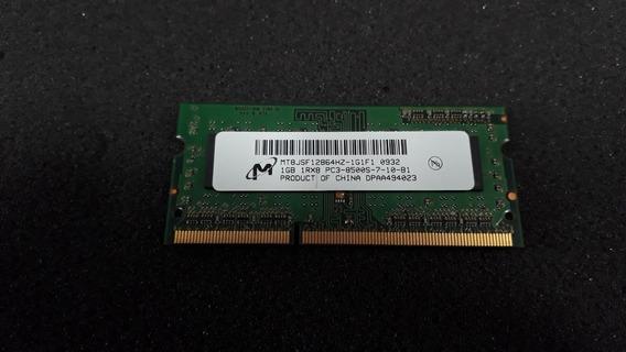 Memória Micron 1gb Pc3-8500s Mt8jsf12864hz Ddr3 43r1989