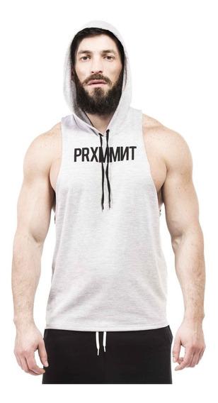 Musculosa Con Capucha Gym Culturismo Crossfit