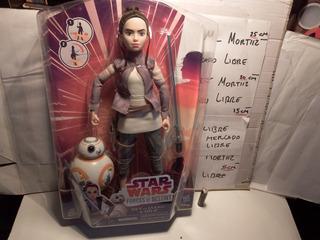 Muñeca Disney Star Wars Jedi Rey De Jakku + Bb8 Hasbro