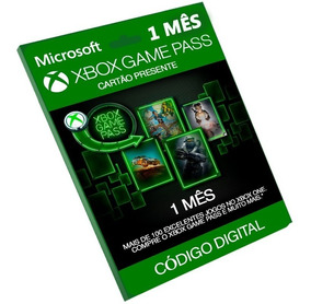 Cartão Xbox Game Pass R$29 Reais 1 Mês (30 Dias) Original Br
