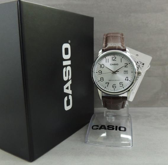 Relógio Casio Masculino - Mtp-v002l-7b2udf + Pulseira Extra