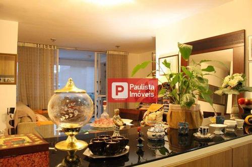 Apartamento Com 3 Dormitórios À Venda, 120 M² Vila Mariana - São Paulo/sp - Ap26605