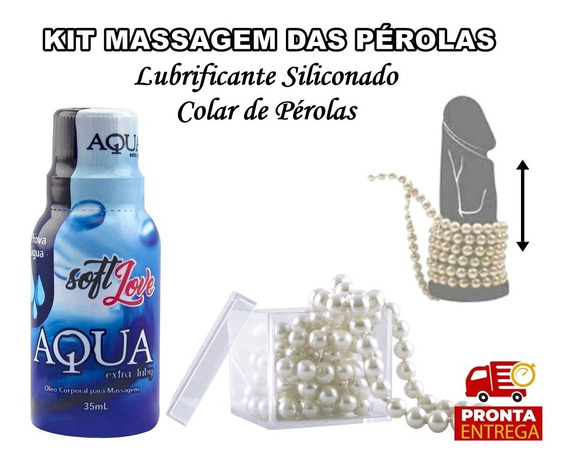 Kit Massagem Das Perolas, Massagem Erótica Sensual