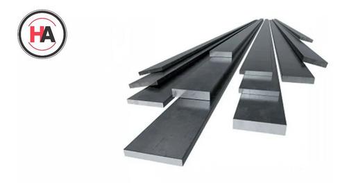Planchuela De Hierro 4 X 1/8  (101,6x3,2mm) Barra 6 Mts - Ha