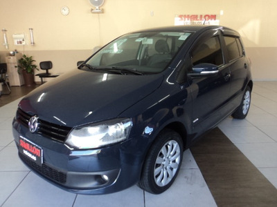 Volkswagen Fox 1.0 Vht Trend Total Flex 5p 2012/2013 Cinza