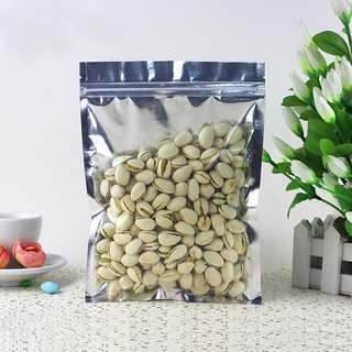 Bolsa Alimentos Productos Metalizada Premium 14x20 Cm 100pzs