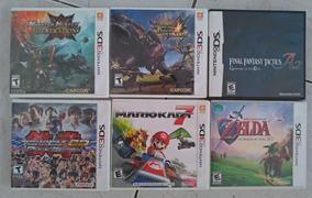 Lote Jogos Originais Nintendo Ds/3ds