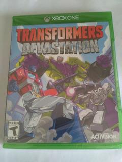 Transformers Devastation Xbox One Nuevo Fisico Sellado