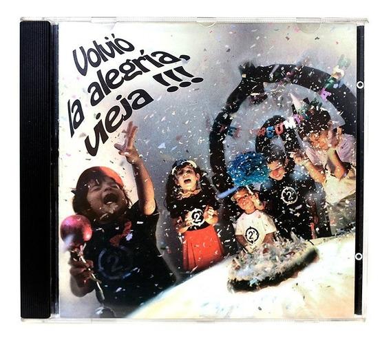 Dos Minutos Volvió La Alegría, Vieja! 1ra Ed. 1995 // Nuevo