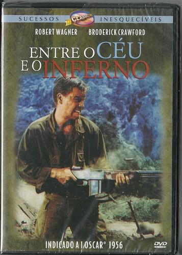 Dvd Entre O Céu E O Inferno 1956 - Guerra -raro | Mercado Livre