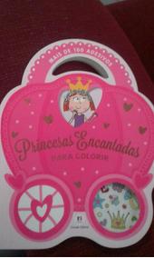 Livro Princesas Encantadas Para Colorir.