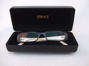 474203c3cb Lentes Oftálmicos Versace Mod. 3061-b Italianos Blanco-negro