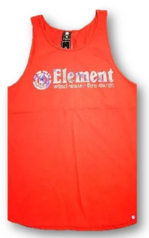 Musculosa Element Horizontal Fill Singlet 21171509 Cro