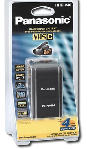Bateria Para Filmadora Panasonic Vhs-c Modelo Hhr-v40a Nova