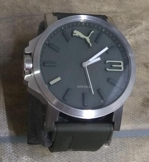 Relógio Masculino Puma 96239g0pmnu1 Verde Militar De Vitrine