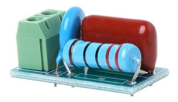 Módulo Snubber Rc Supressor De Fcem Para Circuitos Reativos