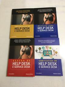 Kit 4 Livros Help Desk Roberto Cohen Da Novatec Edit 10%off