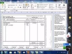 Holerite Modelo Contra-cheque Editável No Excel
