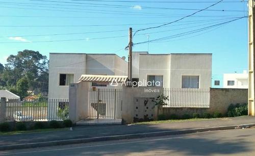 Apartamento Com 3 Dormitórios À Venda Por R$ 170.000,00 - Jardim Flórida - Campina Grande Do Sul/pr - Ap0252
