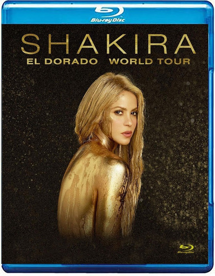 Bluray Shakira - El Dorado Tour