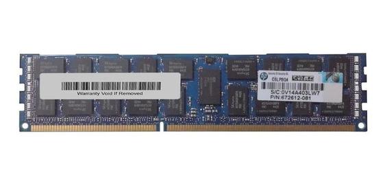 Memória RAM 16GB 1x16GB HP 672612-081