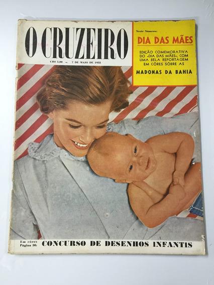 Revista O Cruzeiro Nº 30 7 De Maio De 1955 Madonas Da Bahia