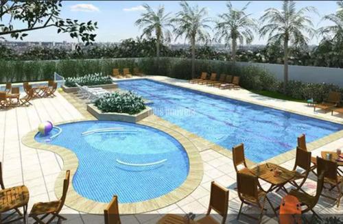 Apartamento Com 2 Quartos Em Condomínio Club Com Vaga   - Pp18522