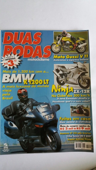 Revista Duas Rodas N°297 Jun/2000 Bmw K 1200 Lt