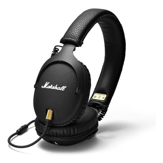 Audifonos Marshall Monitor Negro Microfono
