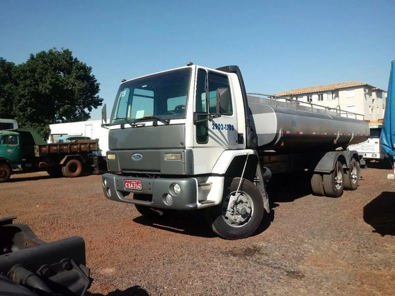 Ford Cargo 2425 6x4 2001 Pipa Ou Chassi
