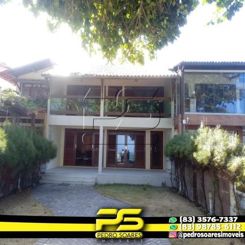 Casa Com 5 Dormitórios À Venda, 500 M² Por R$ 2.000.000,00 - Poço - Cabedelo/pb - Ca0539