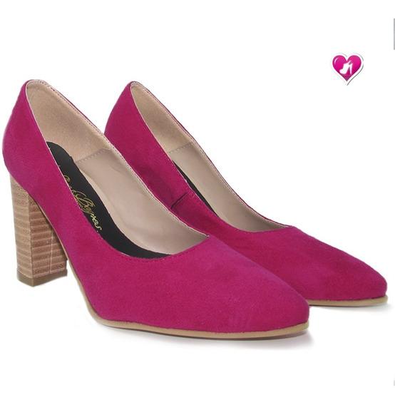 Stilletto Mujer Luis Xv Taco Folia Mod Frida De Shoes Bayres